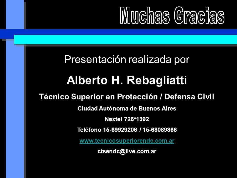 Presentación realizada por Alberto H.