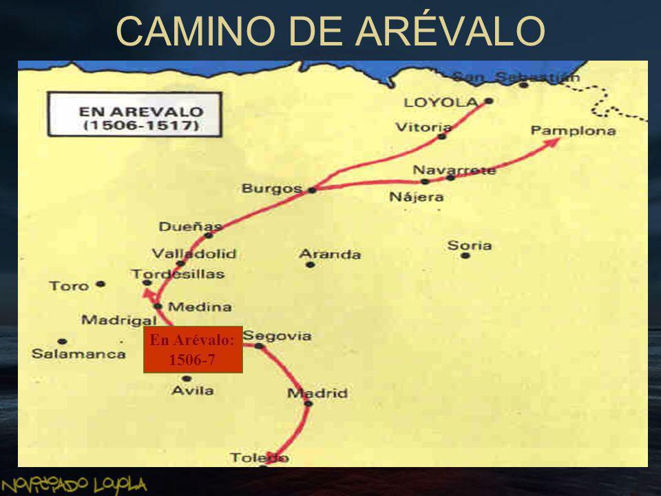 CAMINO DE ARÉVALO En Arévalo: 1506-7