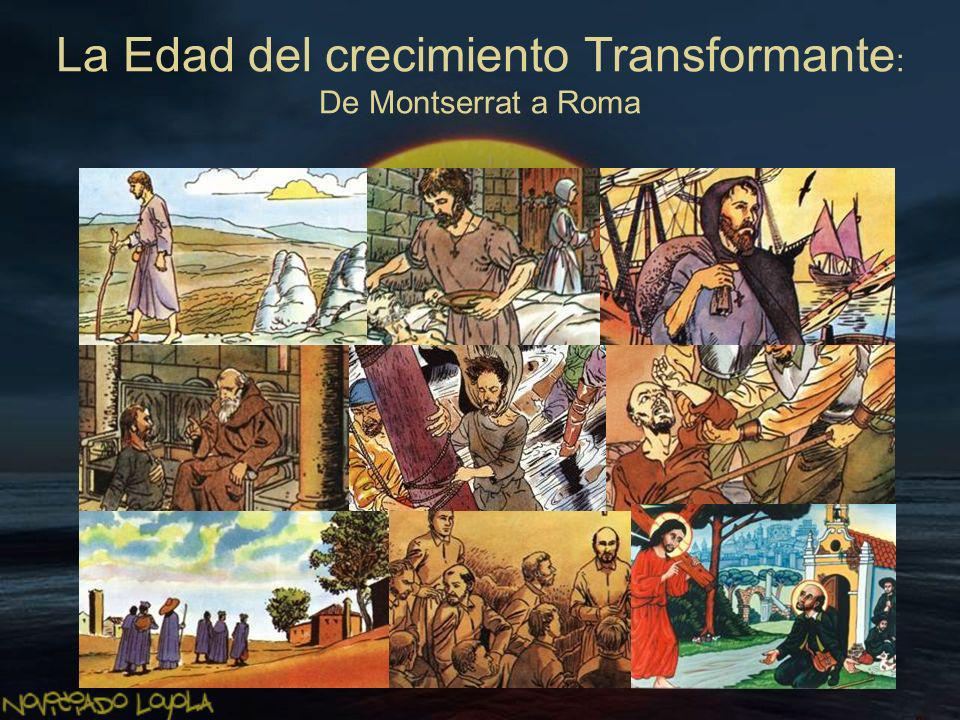 Es la etapa que va desde Montserrat (Barcelona) hasta La Storta (Roma), una pequeña capilla que marca el fin del itinerario geográfico y donde Ignacio