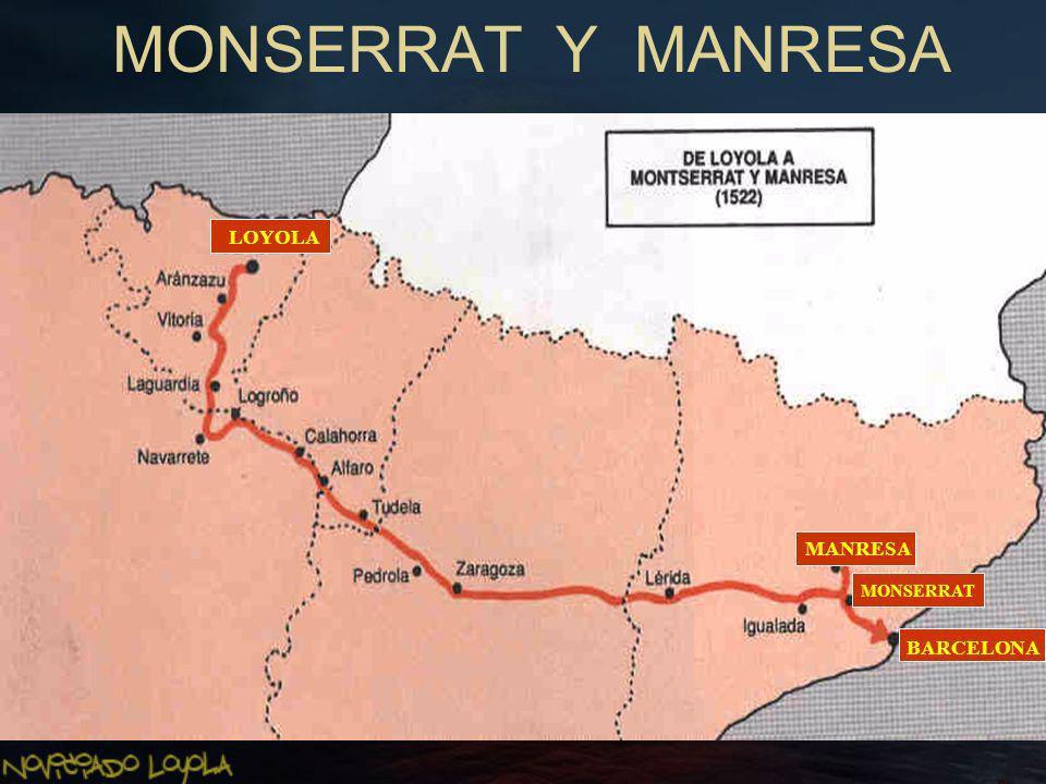 MONSERRAT Y MANRESA LOYOLA MANRESA BARCELONA MONSERRAT