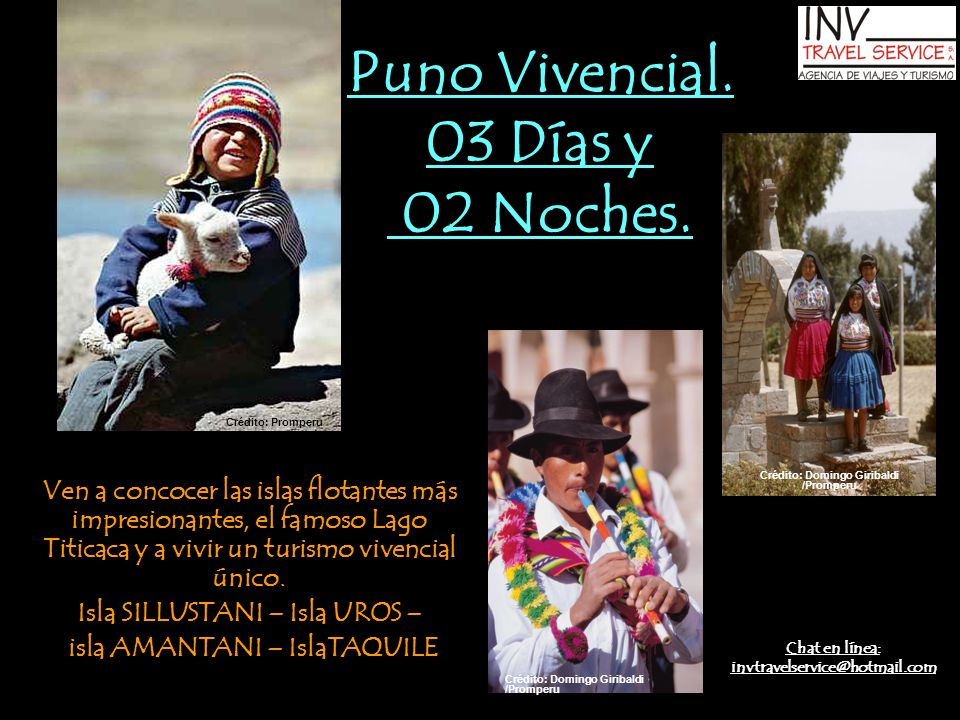 Datos de Interés dePuno ALTITUD Capital: 3827 msnm (Puno).