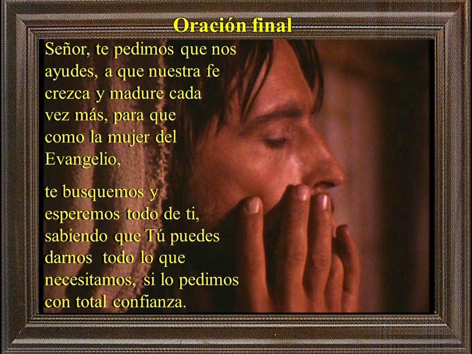 sonialilianafio@yahoo.com.ar La fe es una gracia, un don que el Señor nos da, de ahí ¿qué puedo hacer para que mi fe en el Señor, crezca, madure y así