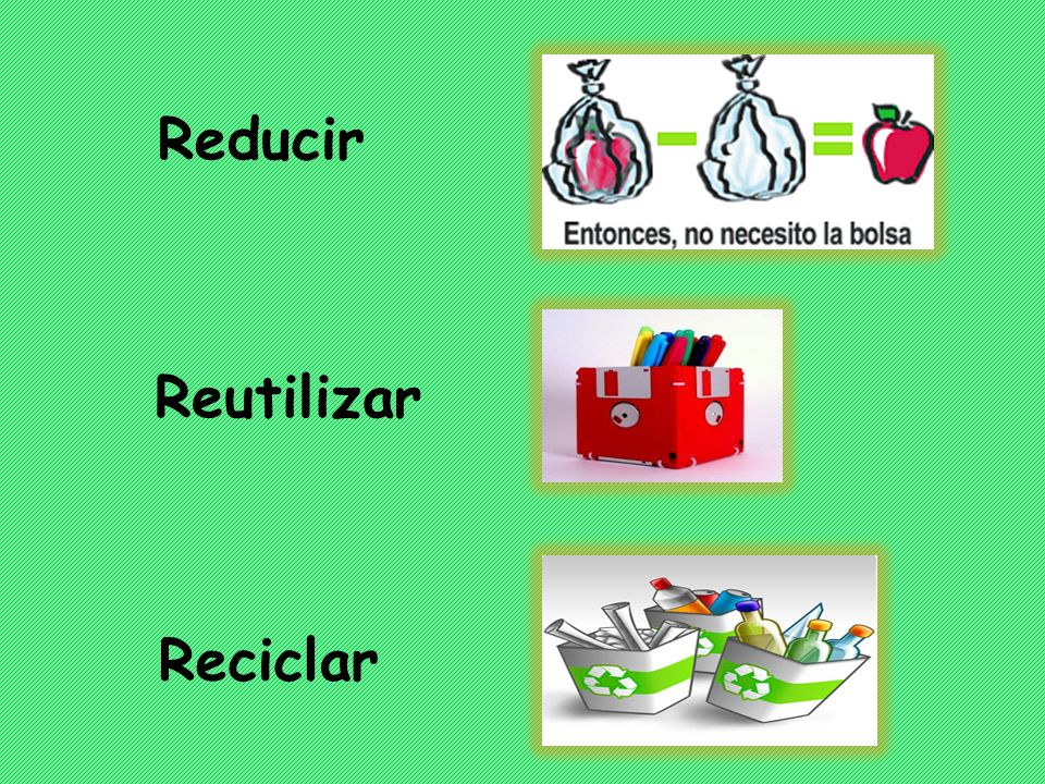 RECICLAR REDUCIR RECUERDEN: es más importante reducir la cantidad de desechos que reciclar IMPORTANCIA DEL RECICLAJE
