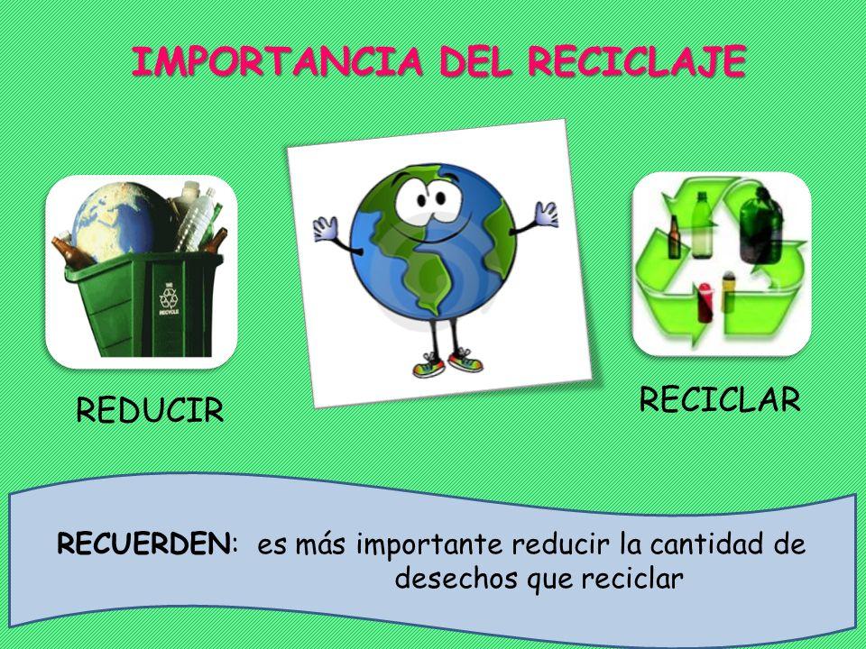 ¿Cómo reciclar? Lo ideal es utilizar un recipiente para cada material: