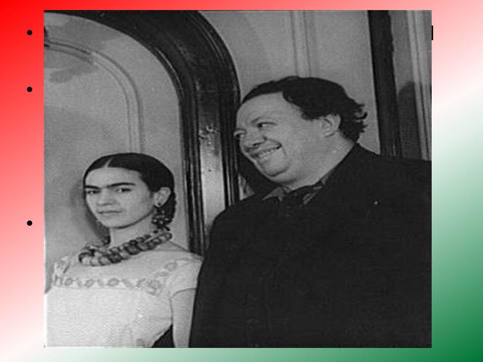 Frida conoció a Diego Rivera se casó con él el 21 de agosto de 1929. Para la boda Diego sugerió a Frida llevar el traje tradicional mexicano consisten