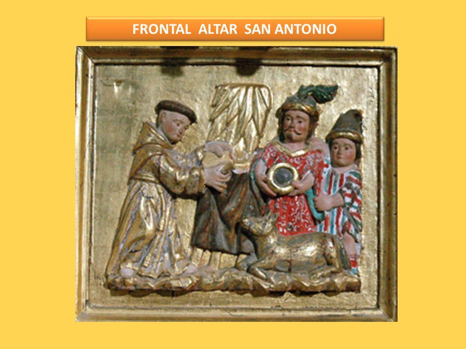 FRONTAL ALTAR SAN ANTONIO