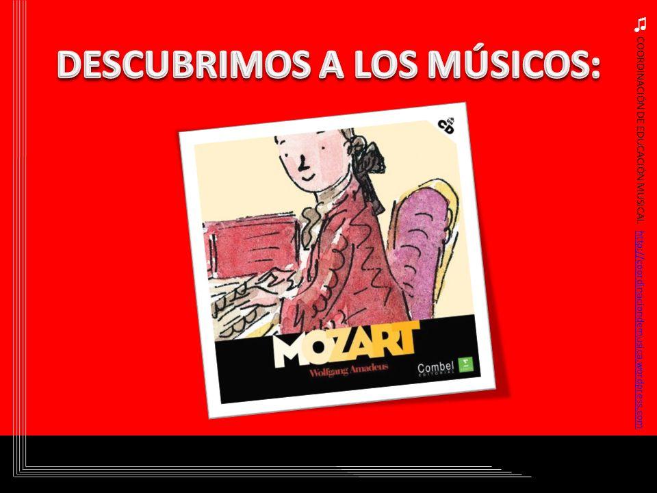 COORDINACIÓN DE EDUCACIÓN MUSICAL http://coordinaciondemusica.wordpress.comhttp://coordinaciondemusica.wordpress.com