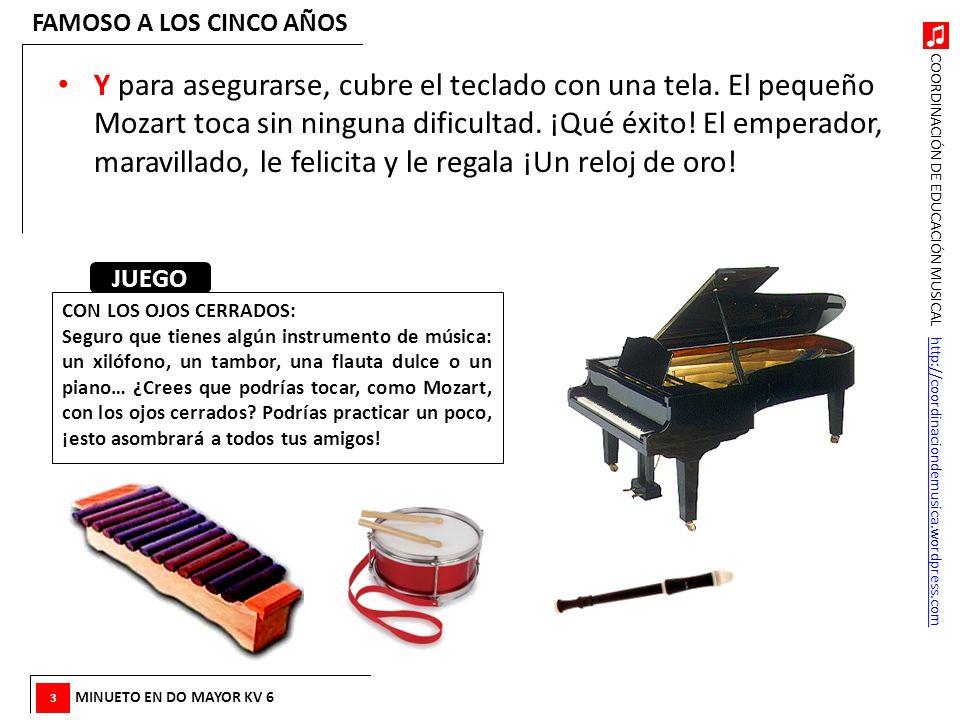 COORDINACIÓN DE EDUCACIÓN MUSICAL http://coordinaciondemusica.wordpress.comhttp://coordinaciondemusica.wordpress.com Y para asegurarse, cubre el tecla