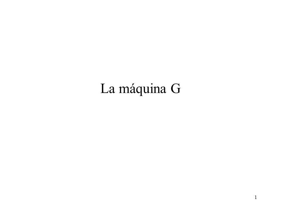1 La máquina G