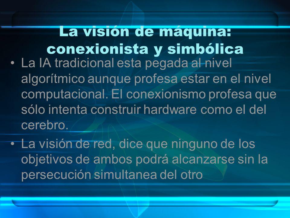 ¿Qué es lo que hace la visión.