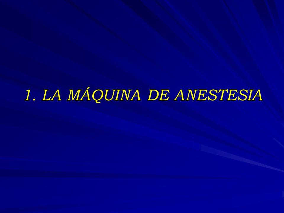 1. LA MÁQUINA DE ANESTESIA