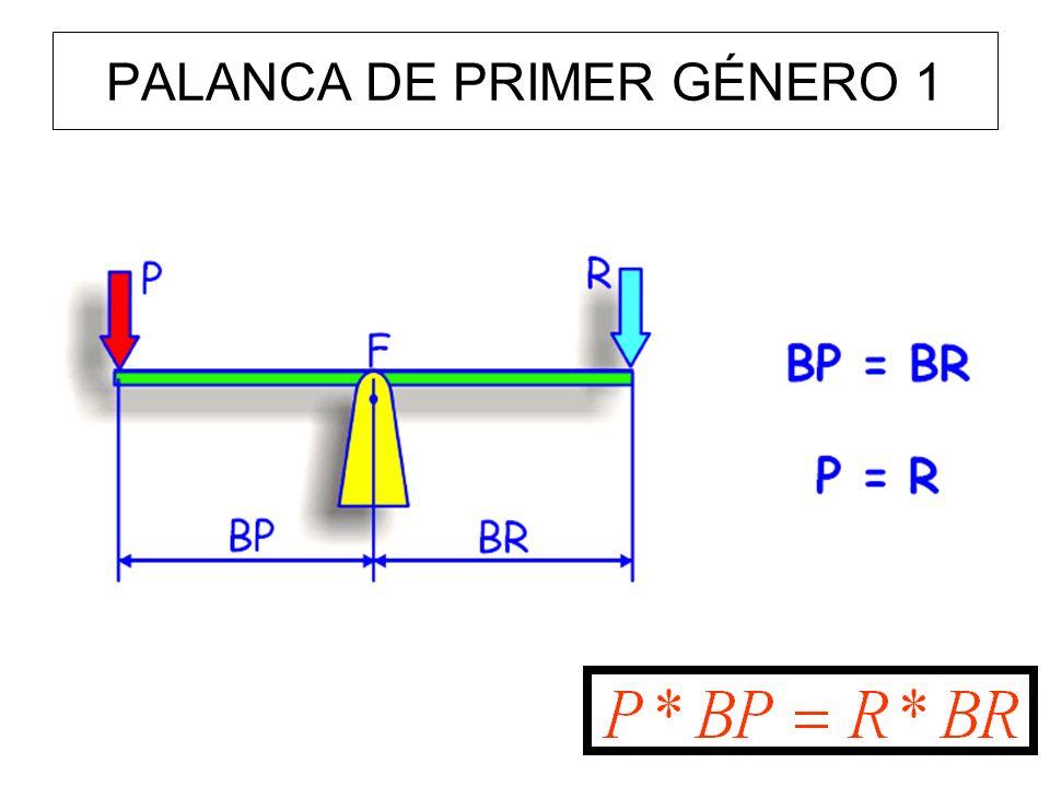 PALANCA DE PRIMER GÉNERO 1