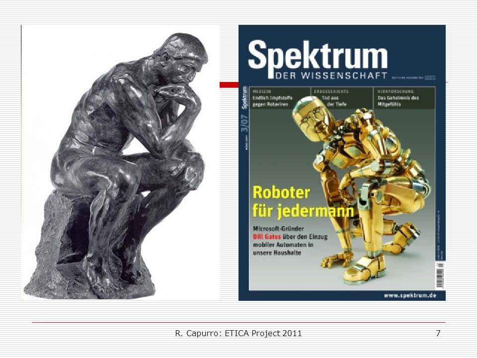 R. Capurro: ETICA Project 20117