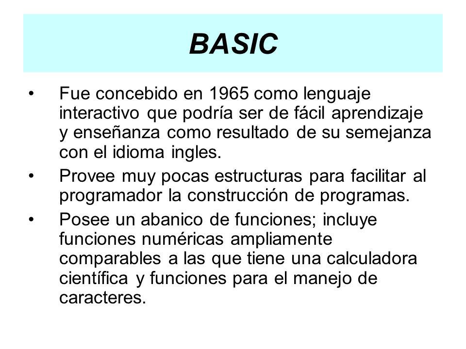 Los Visual Visual Basic.