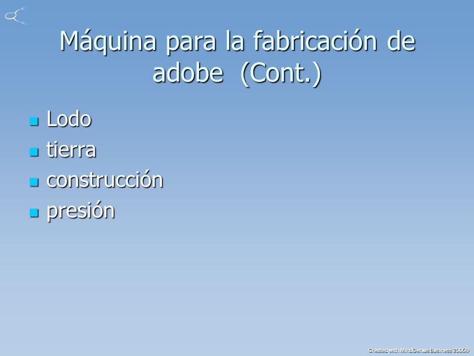 Created with MindGenius Business 2005® color (Cont.) Gris Gris negro negro