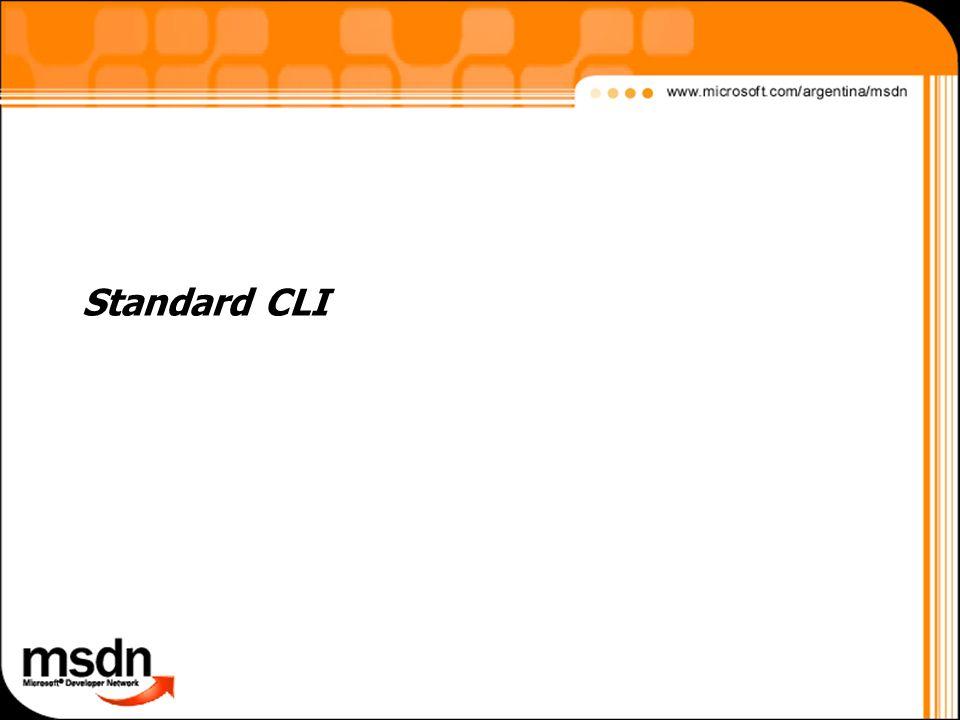 Standard CLI