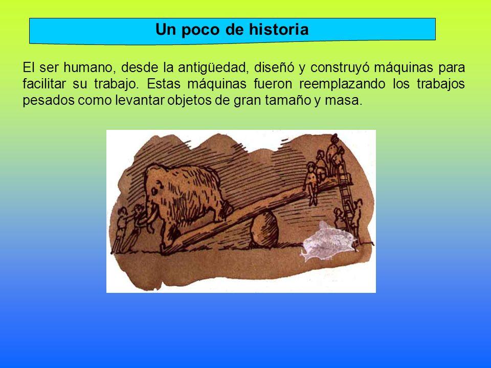 El ser humano, desde la antigüedad, diseñó y construyó máquinas para facilitar su trabajo.