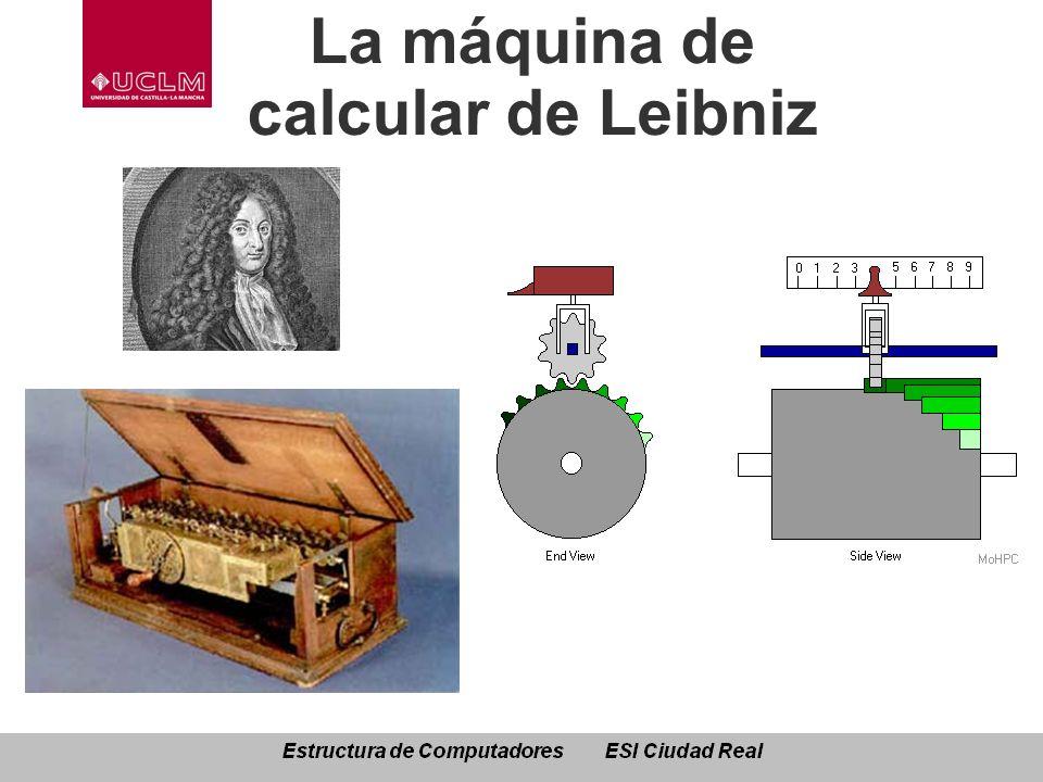 La máquina de calcular de Leibniz