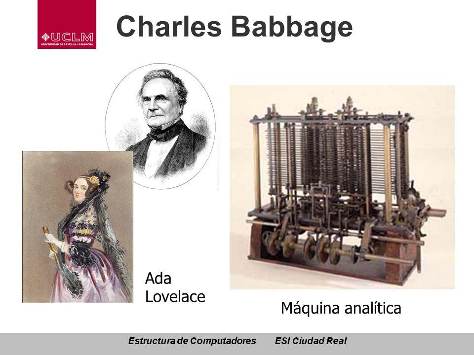 Charles Babbage Máquina analítica Ada Lovelace