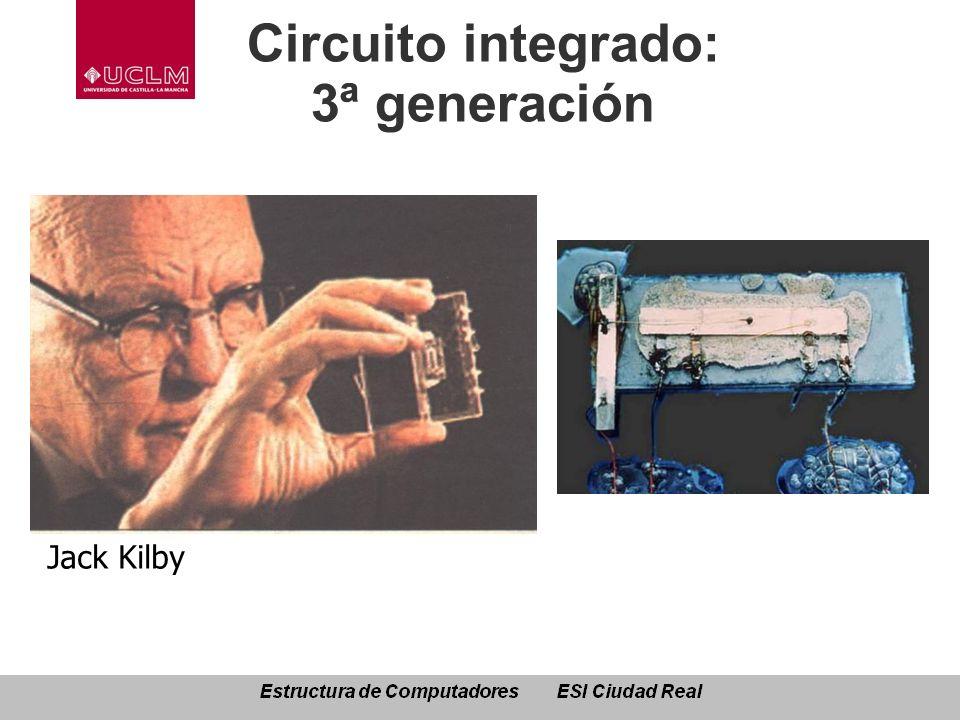 Circuito integrado: 3ª generación Jack Kilby