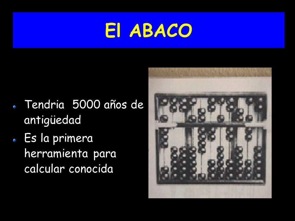 El ABACO Tendria 5000 años de antigüedad Es la primera herramienta para calcular conocida