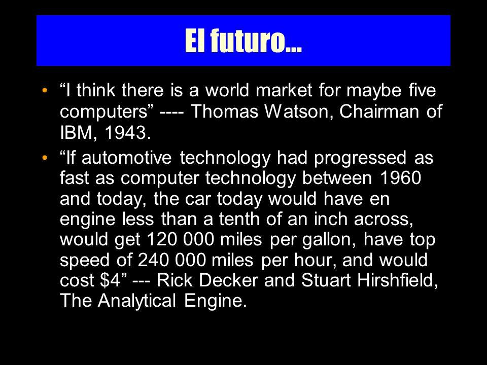 El futuro...