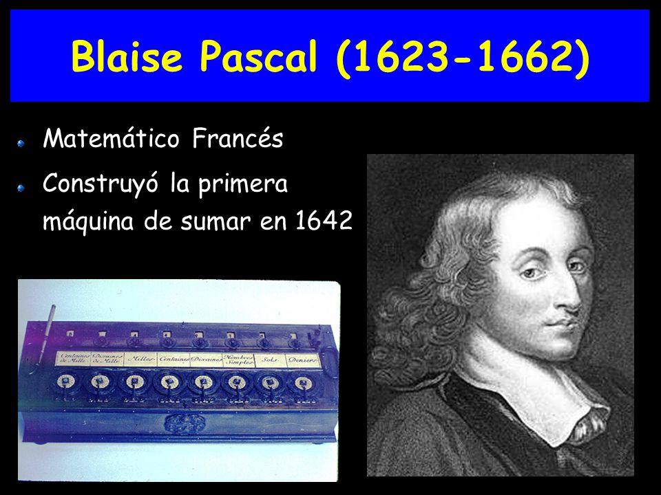 Joseph Marie Jacquard Utilizó tarjetas perforadas Inventó el Jacquard loom, 1801
