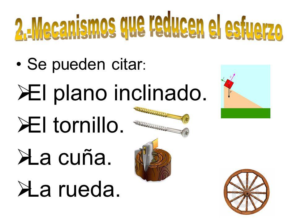 Engranaje: es un mecanismo obtenido de la combinación de ruedas dentadas u otro operador compatible; los dientes se asocian unos con otros así que el grosor debe ser el mismo.