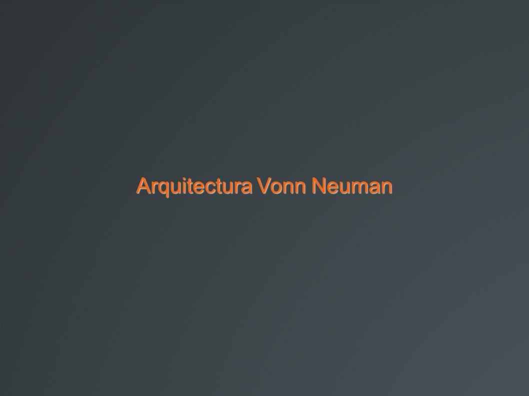 Arquitectura Vonn Neuman