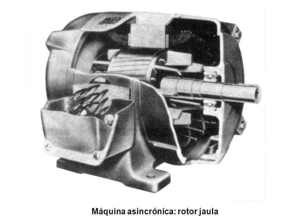 Máquina asincrónica: rotor jaula