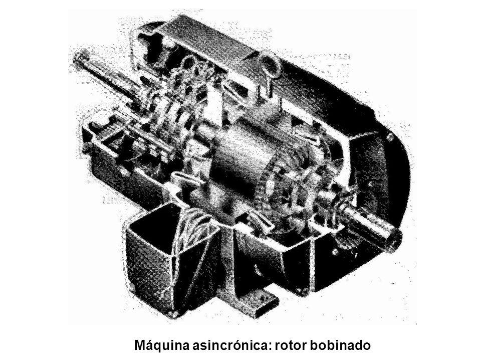 Máquina asincrónica: rotor bobinado