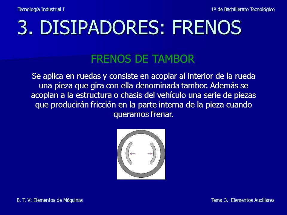 6.LUBRICACIÓN Tecnología Industrial I 1º de Bachillerato Tecnológico B.