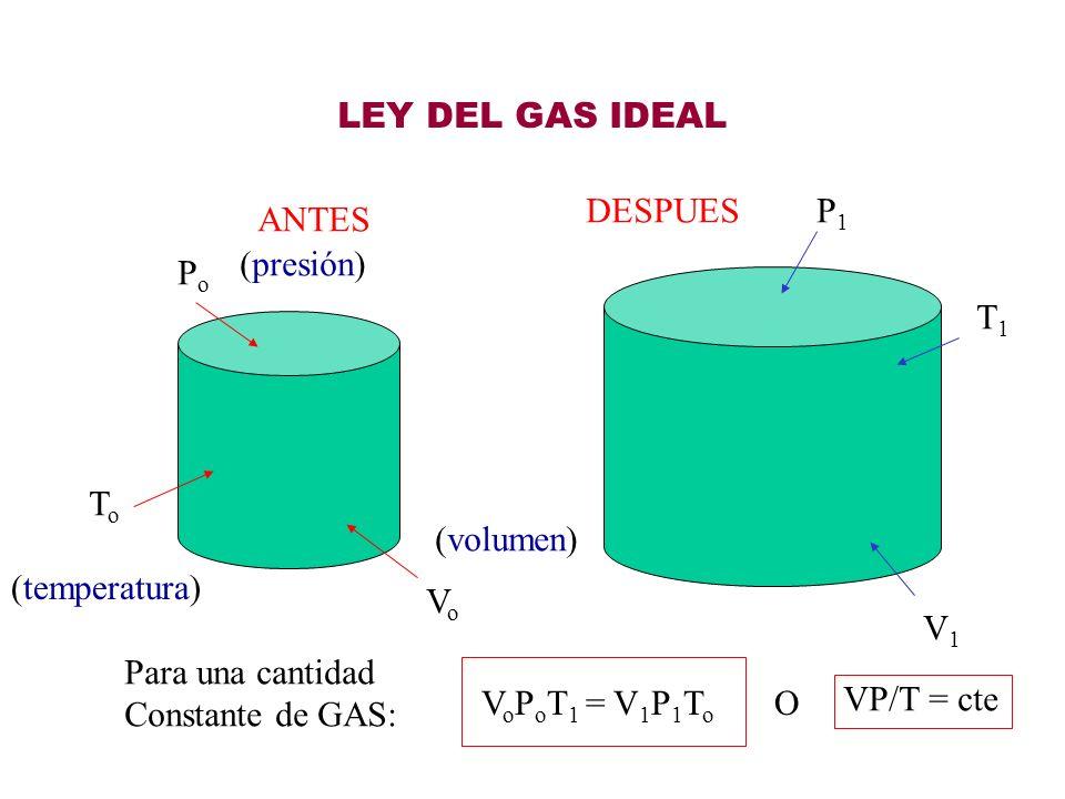 LEY DE BOYLE (Proceso Isotérmico) V 1 / P Para Temperatura Constante