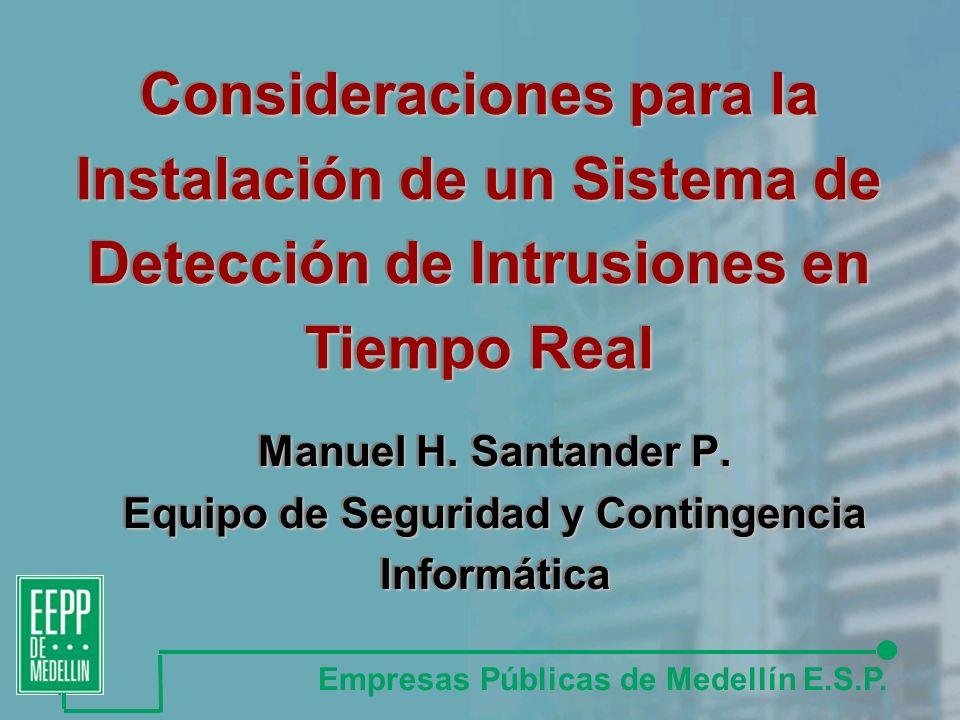 Manuel H.Santander P.