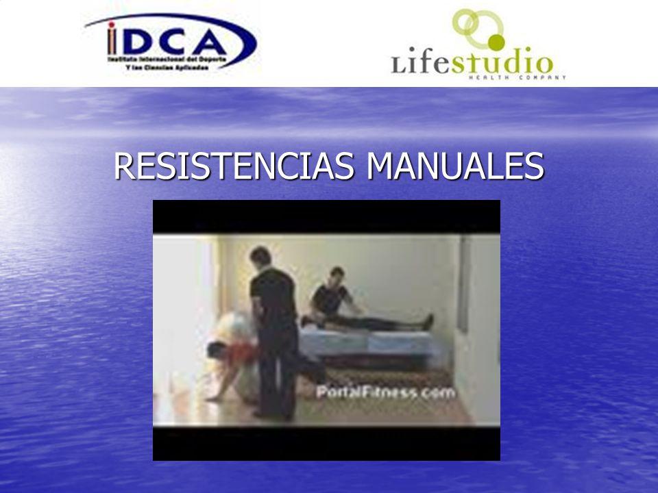 RESISTENCIAS MANUALES