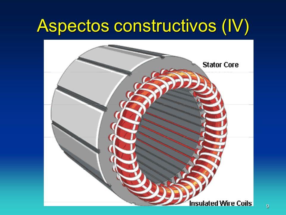 J.F.A.10 Aspectos Constructivos (V) ROTOR: Chapas apiladas.