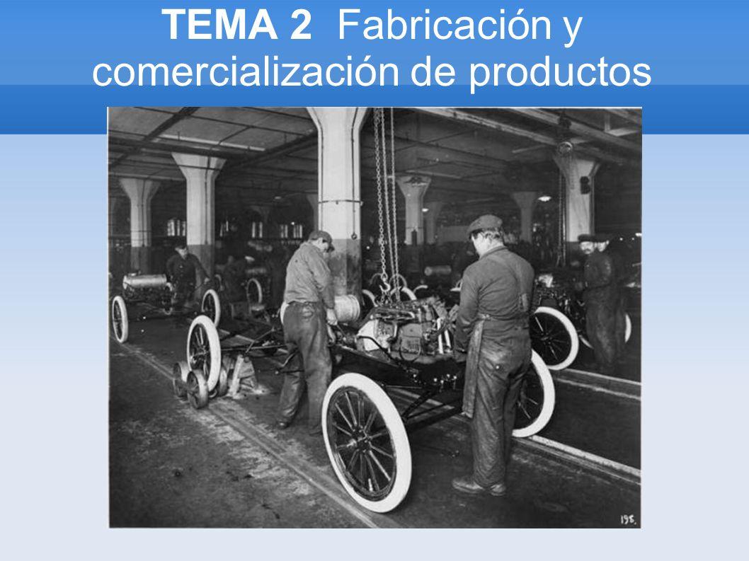 TEMA 2 Fabricación y comercialización de productos