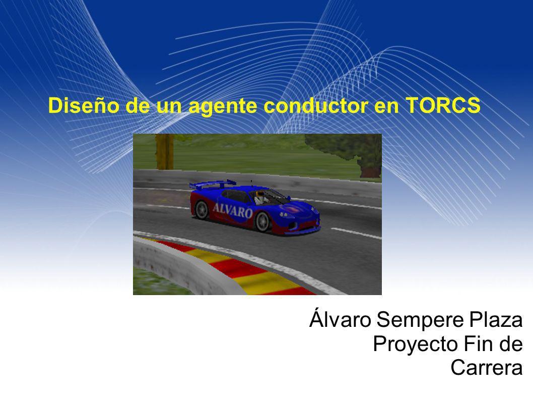 2 OBJETIVOS Diseño de un agente inteligente Contexto Torcs y arquitectura Sensores y actuadores Tipos de curvas.