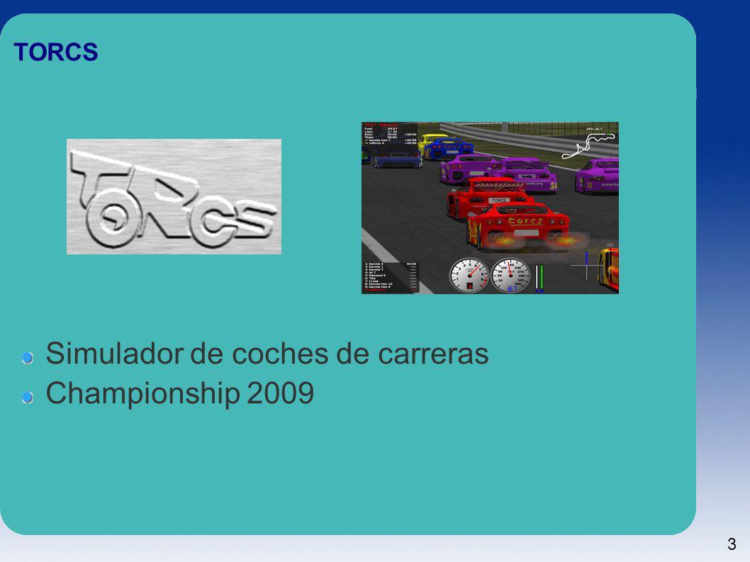 3 TORCS Simulador de coches de carreras Championship 2009
