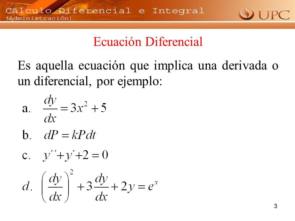 4 Definición: Solución de una Ec.