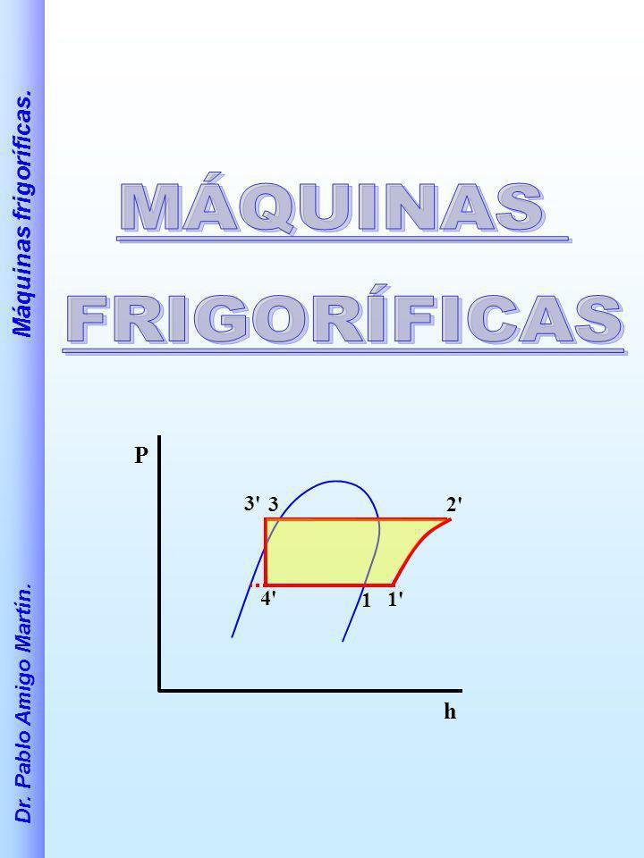 Dr. Pablo Amigo Martín. Máquinas frigoríficas. 32' 1 1' 4' 3' P h