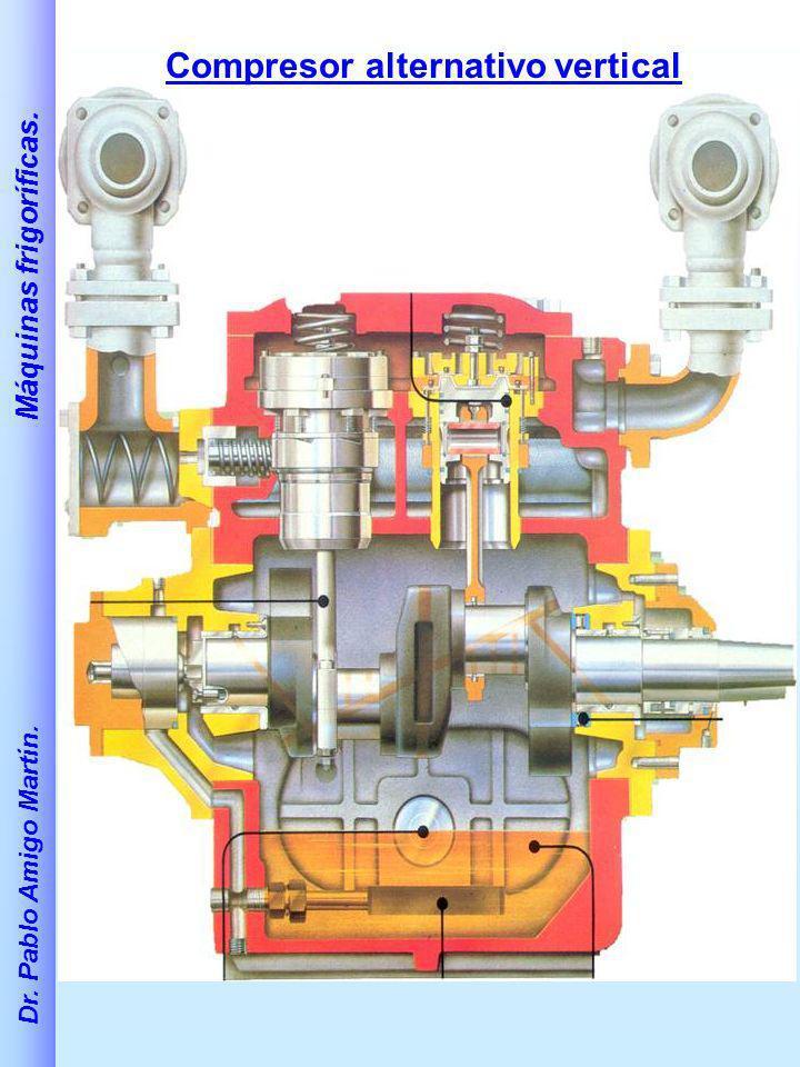 Compresor alternativo vertical