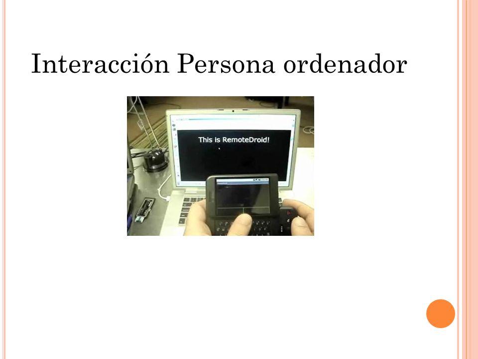 Interacción Persona ordenador Presentado: