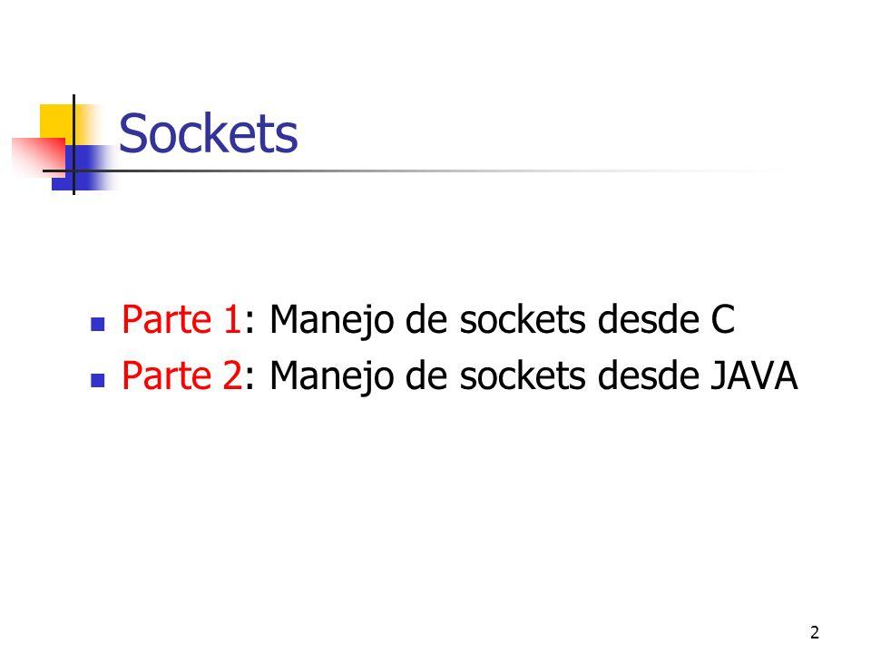 23 Escritura o envío de mensajes a un socket (II) int send (int sfd, void *buf, int len, int flags) int sendto (int sfd, void *buf, int len, int flags, void * to, int tolen) int sendmsg (int sfd, struct msghdr msg[], int flags) sfd : descriptor del socket donde se escribe.