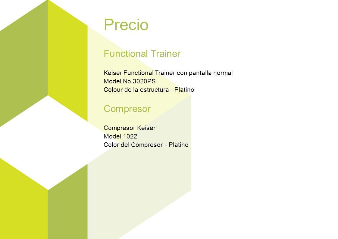 Precio Functional Trainer Keiser Functional Trainer con pantalla normal Model No 3020PS Colour de la estructura - Platino Compresor Compresor Keiser M