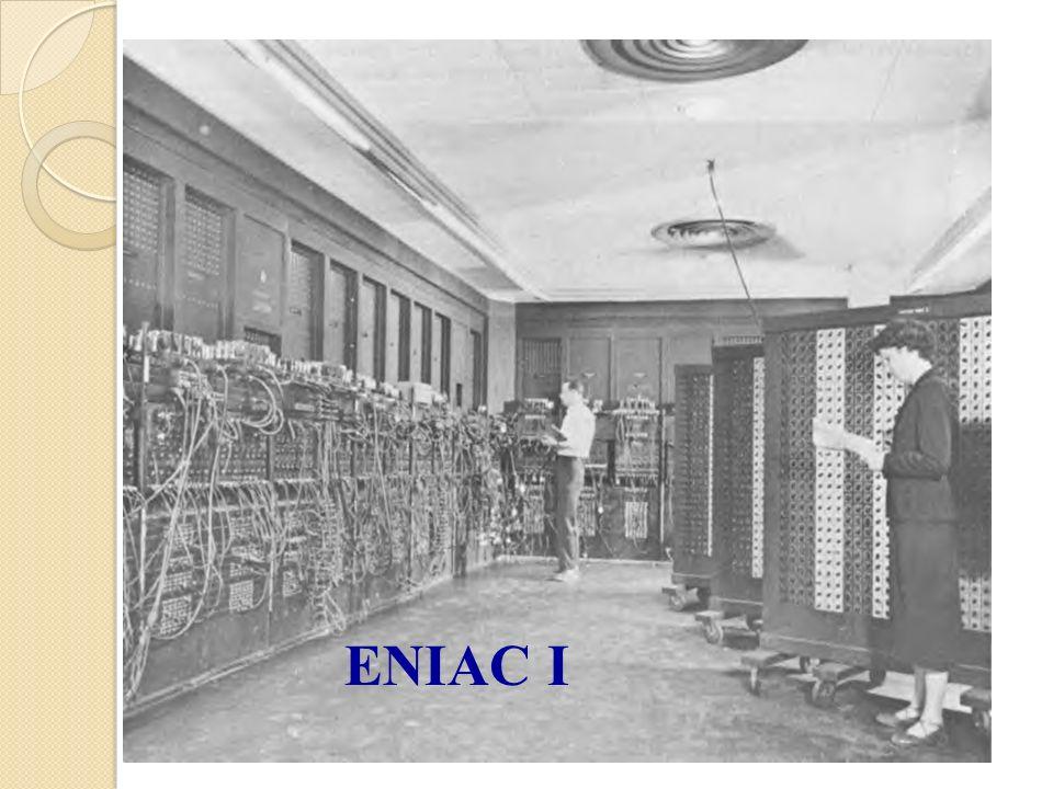 La computadora actual 1era generación: 1936 -- 1958 Máquinas hechas de tubos al vacío UNIVAC I – comercial; 1950 Década de los 50: ENIAC EDSAC EDVAC MARK I
