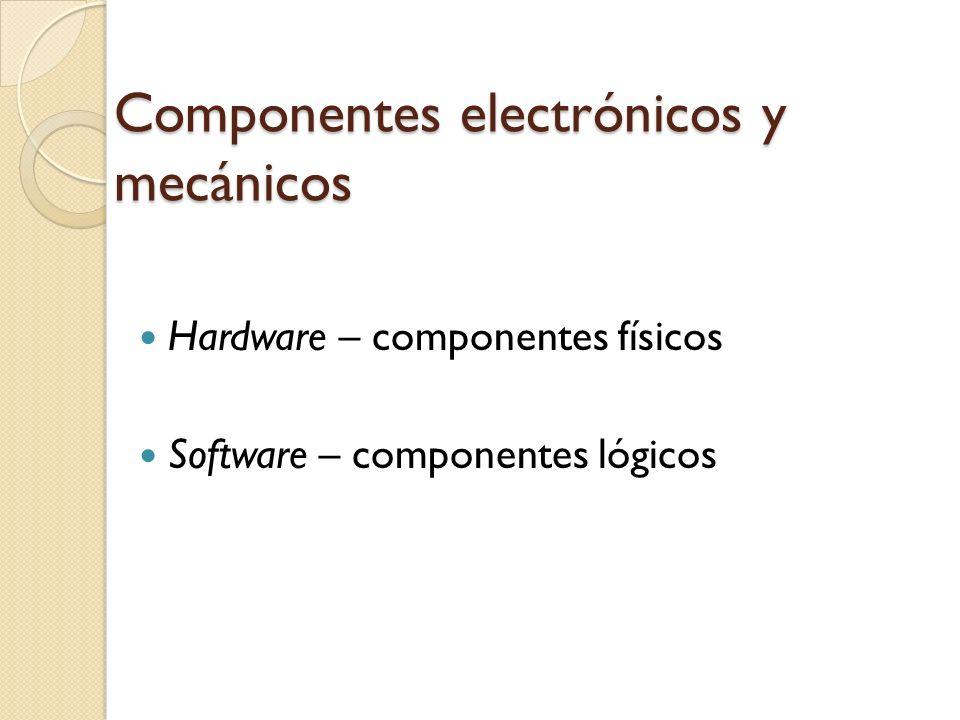 Computadora Un sistema computacional es un conjunto de tecnologías capaz de efectuar cuatro operaciones: Aceptar entradas (DATOS) Producir salidas (INFORMACION) Procesar datos INFO Almacenar información