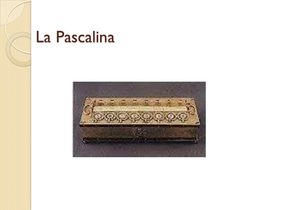 Blaise Pascal 1642.
