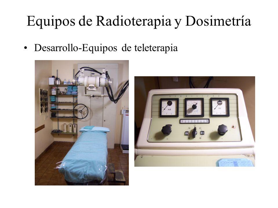 Equipos de Radioterapia y Dosimetría Desarrollo-Equipos de teleterapia