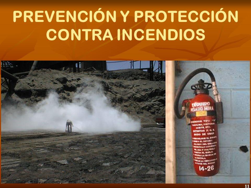 12 PREVENCIÓN Y PROTECCIÓN CONTRA INCENDIOS